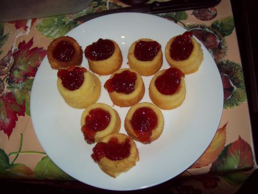 volcano cupcakes