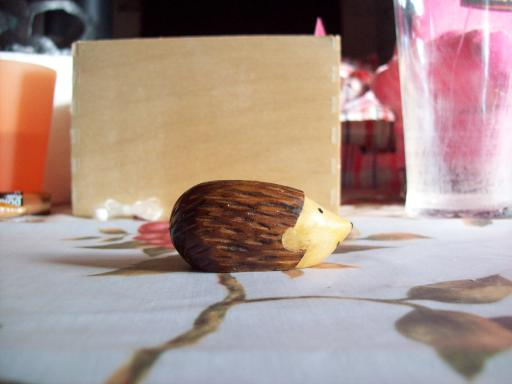 Wooden Hedgehog