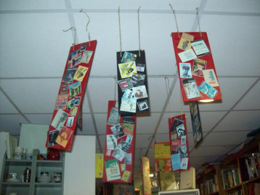 Visual Poetry VisPo as Ceiling Art