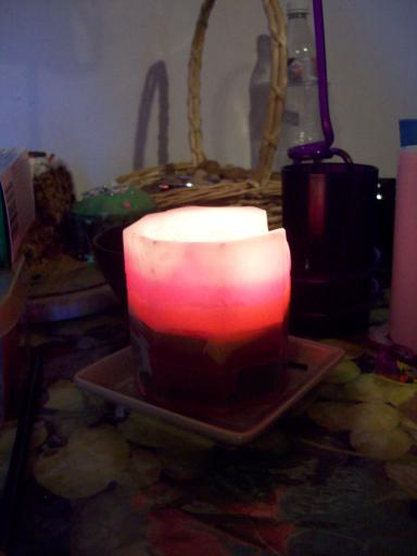 Rose Glow Candle
