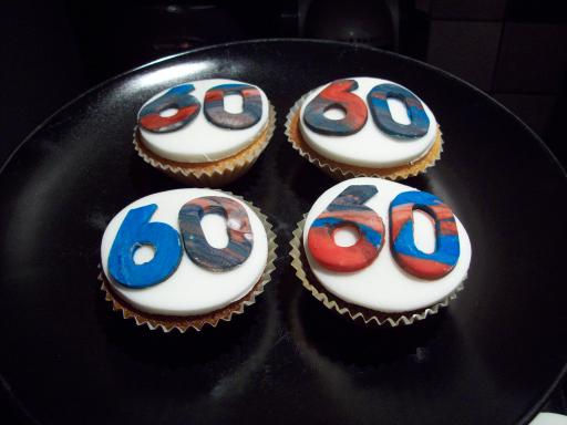 60 Cup Cakes