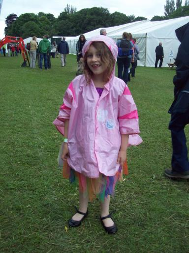 Pinky the Cat a.k.a Jeany at Stroud Water Festival