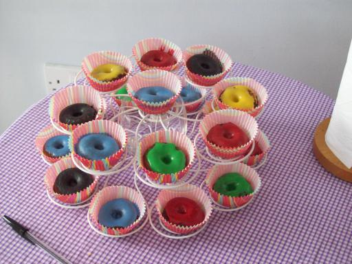 Edible Olympic Rings