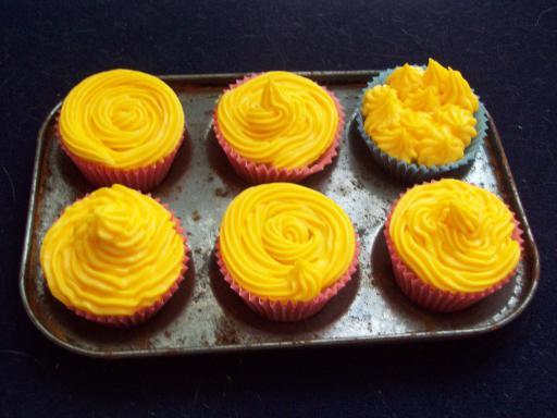 Citrus burst cupcakes