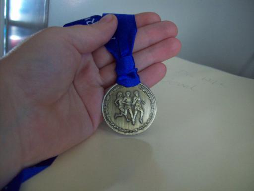 Tilda Half Marathon Medal from 1998