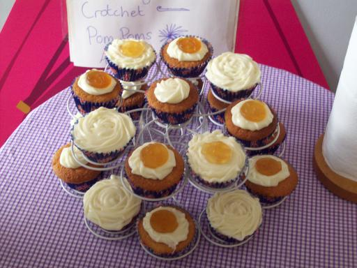 Orange gold medal cakes