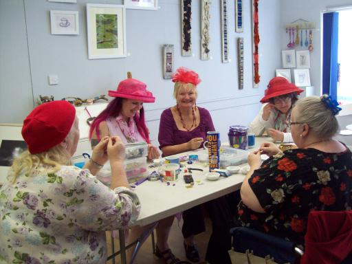 The Wild Cherries at Bead Workshop Centre Arts Cheltenham