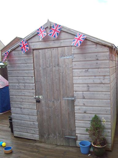 Holiday Home Shed