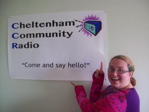 Sarah Snell-Pym at Cheltenham Community Radio