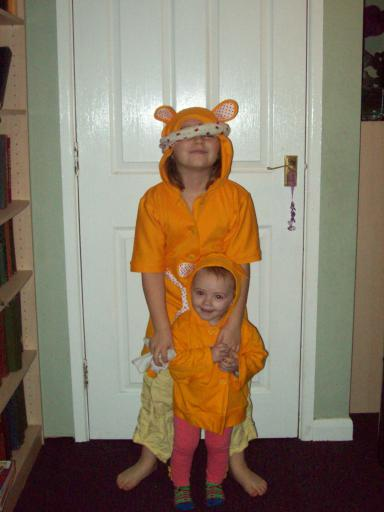 Two Pudsey Bears
