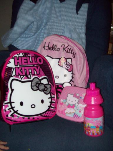 Hello Kitty School Gear