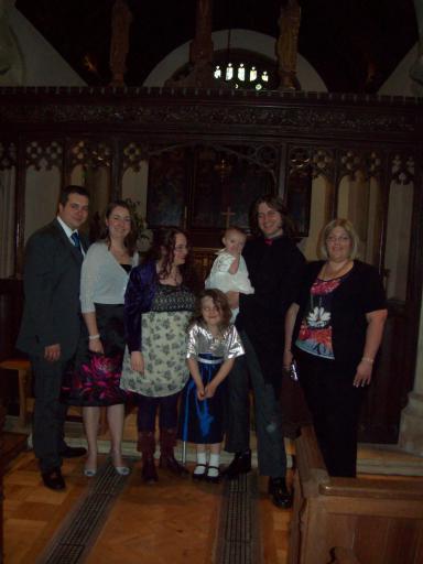 Mary's Christening