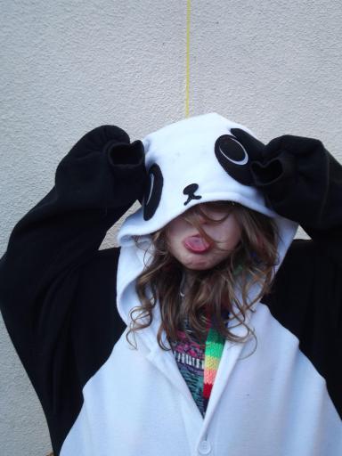 Cheeky panda!