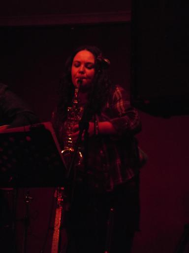 Red Shift Saxaphone