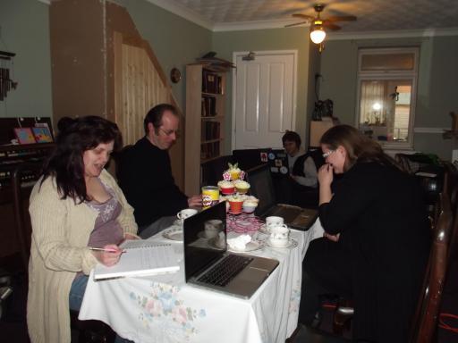 The creative vibe at Creativi Tea