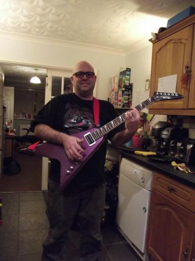 Seth and guitar
