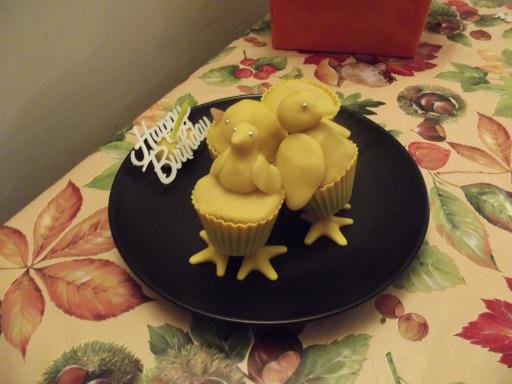 Easter Chick Birthday Cake