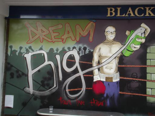 Dream Big Wall art Bristol