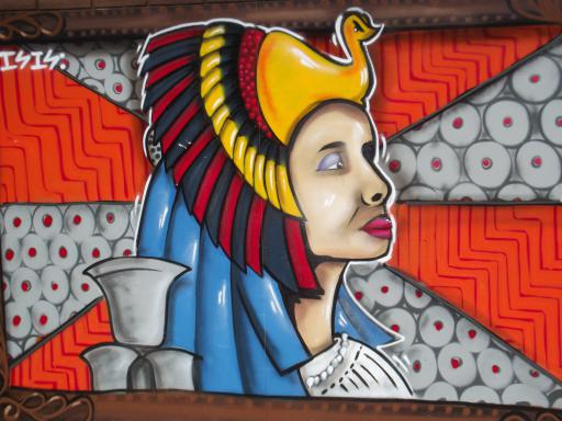 Egyptian Queen wall art UWE