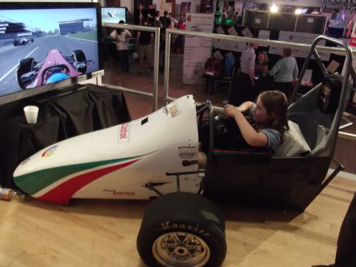 Vroom vroom at the Cheltenham Science Festival