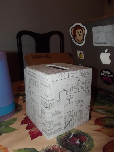 Circuit board tissue box