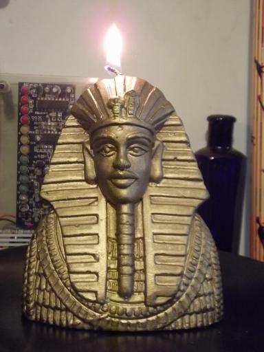 King Tut Candle