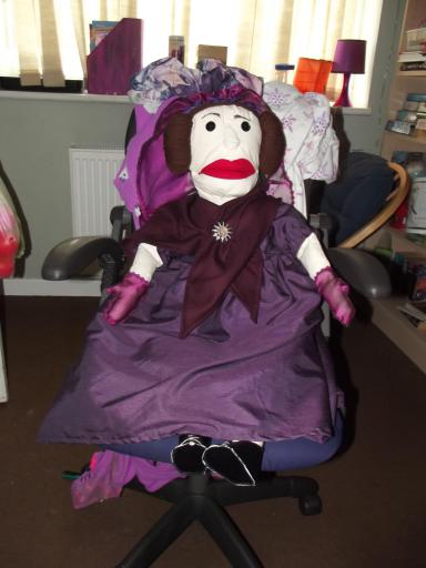 Ada Lovelace puppet
