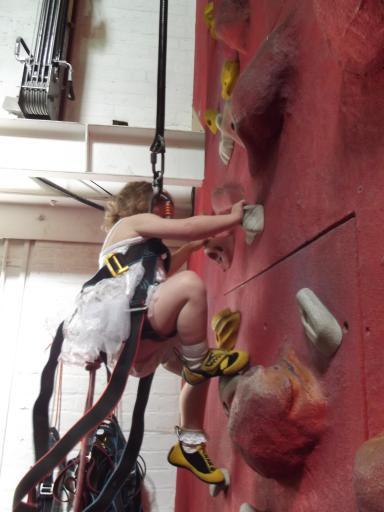 Climbing ballarina