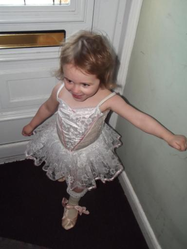 Toddler dancing queen
