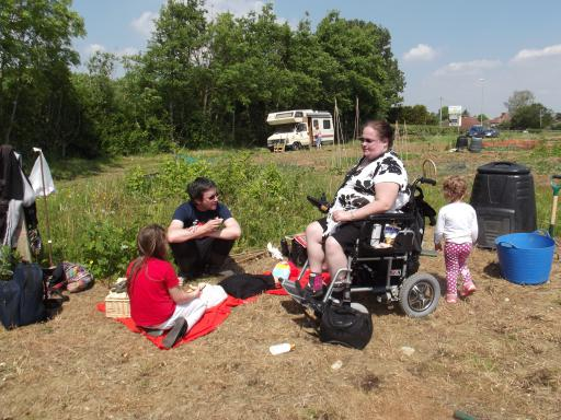 Accessibility win for the Primrose Vale allotments