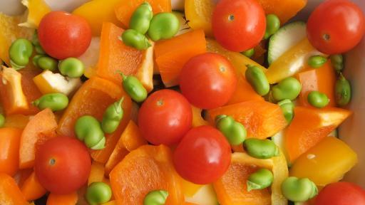 beans and med veg