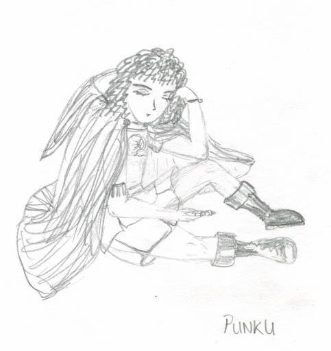 Punku Concept Pencil sketch
