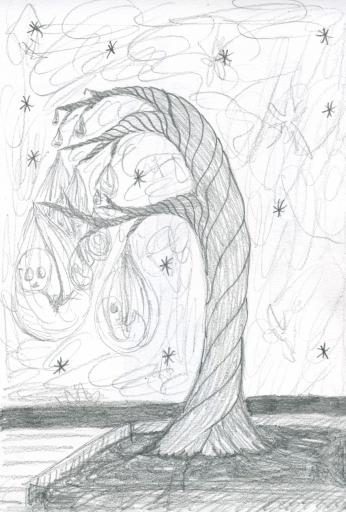 placenta tree concept sketch