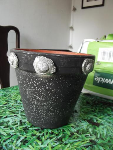 Space invaders plant pot