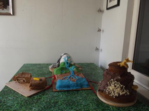 Geologist Despair Cake