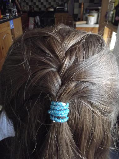 Braiding attempt