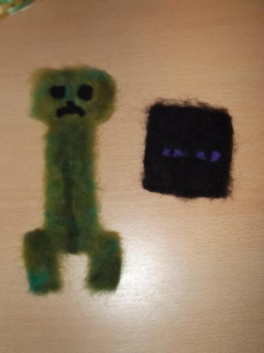 Felted creeper and endoman