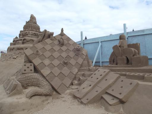 A sand castle for gamers
