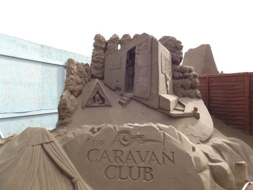 Campsite in Sand