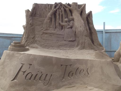 Fairy Tale Wood in sand