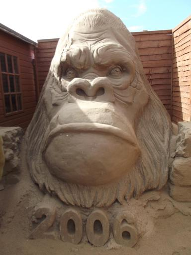 King Kong in Sand
