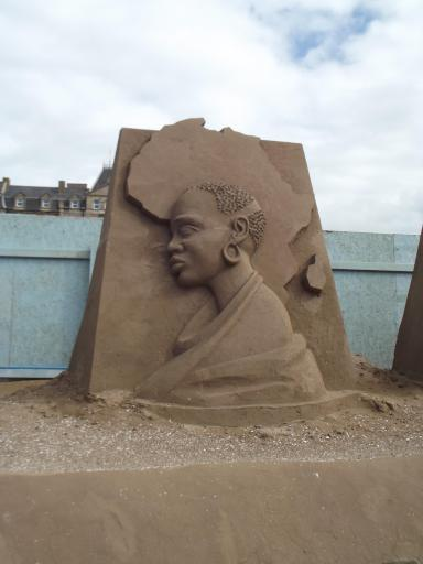 Portrait in Sand 2