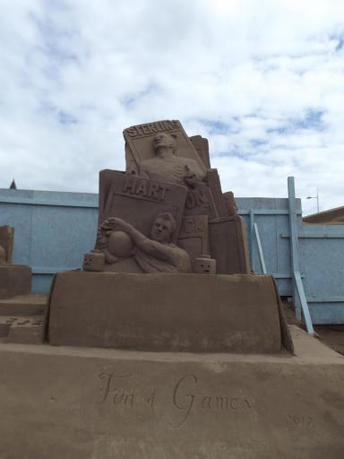 Sand castles on a new level