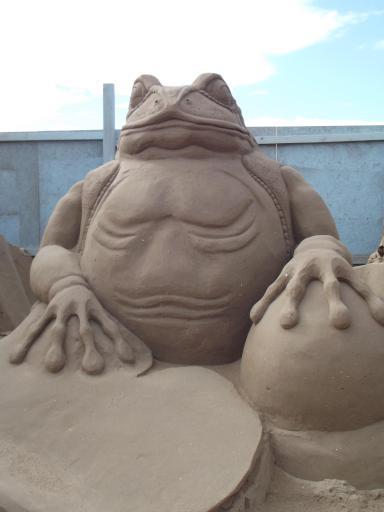 Sand frog prince