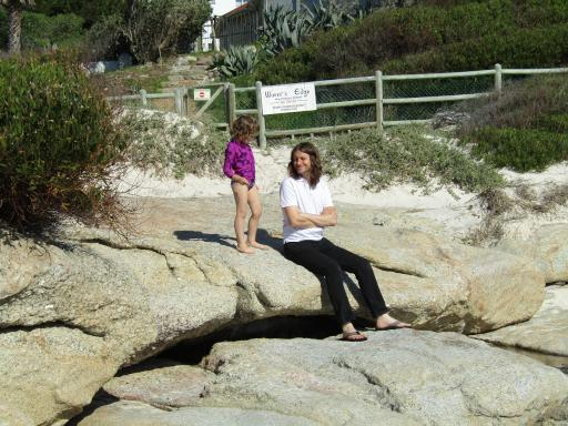 Alaric and Mary at Boulders