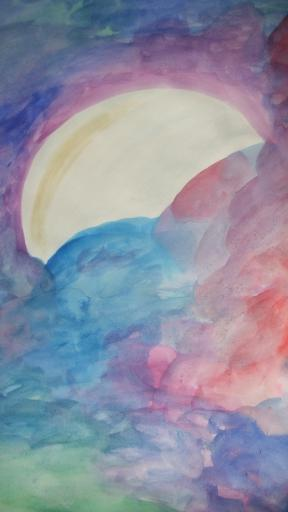 Whimsical Moon