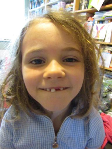 The gap toothed monster!