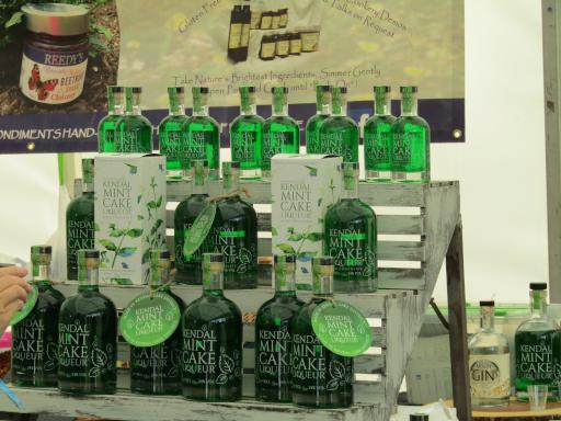 Kendal Mint Cake Liqueur at Country File Live