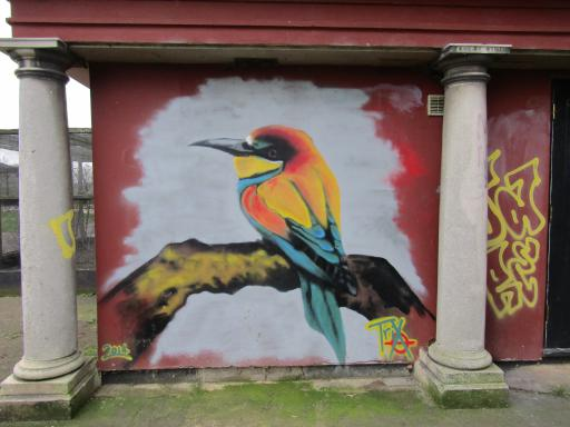 Bird Graffiti Gloucester