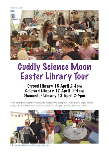 Cuddly Science Library Space Tour